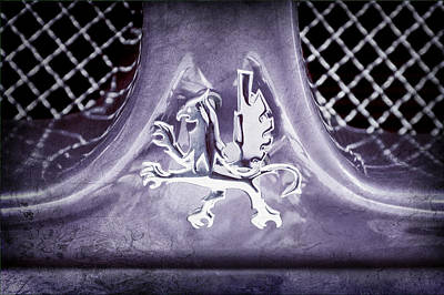 1969 Iso Grifo Emblem Poster by Jill Reger