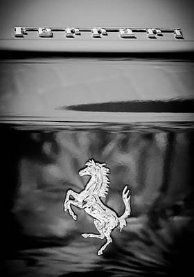 1999 Ferrari 550 Maranello Emblem -651c Poster by Jill Reger