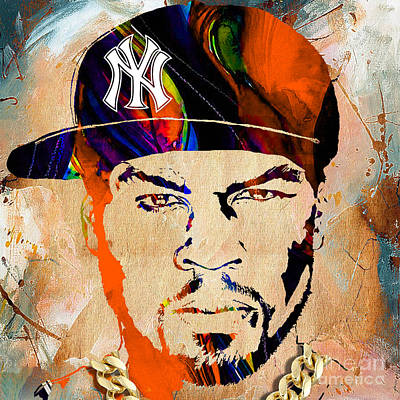50 Cent Collection Poster by Marvin Blaine