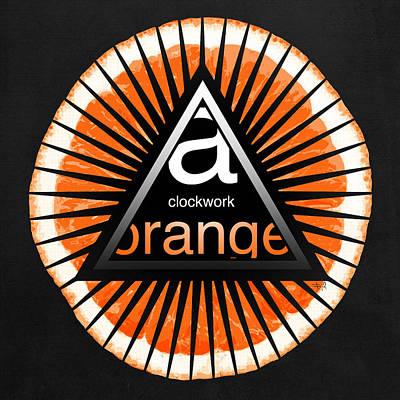 A Clockwork Orange Poster by Filippo B
