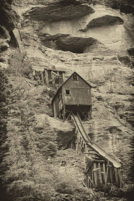 Abandoned Mine Poster by Melany Sarafis
