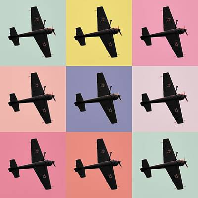 Aerobatics Plane Poster by Toppart Sweden