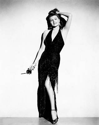 Affair In Trinidad, Rita Hayworth, 1952 Poster by Everett