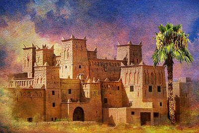 Ait Benhaddou  Poster by Catf
