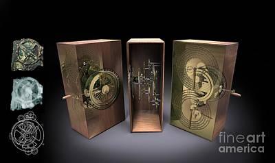 Antikythera Mechanism, Artwork Poster by Jose Antonio Pe??as