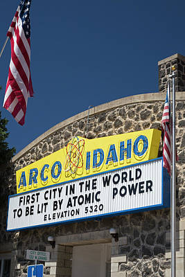 Arco Poster by Jim West