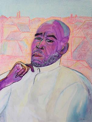 Artist Spiritualist Teacher And True Friend Poster by Asha Carolyn Young