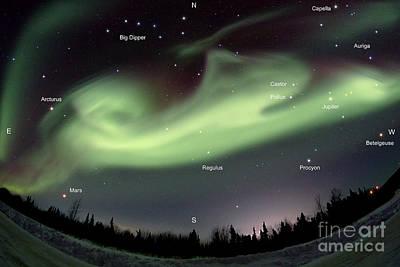 Aurora Borealis, Alaska, 3212014 Poster by John Chumack