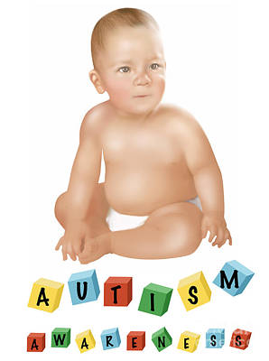 Autism Awareness Poster by Gwen Shockey