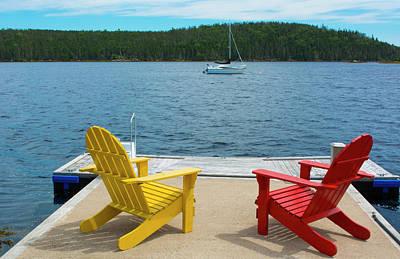 Bar Harbor, Maine, Peaceful Scene Poster by Bill Bachmann