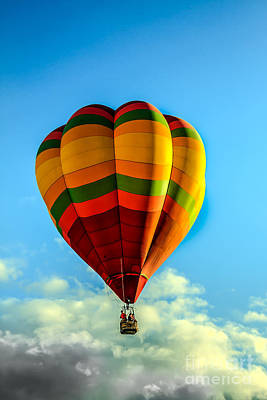 Beautiful Balloon Poster by Robert Bales