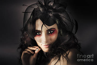 Beautiful Jewellery Woman Wearing Necklace Poster by Jorgo Photography - Wall Art Gallery