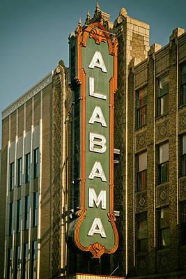 Birmingham's Alabama Theatre Poster by Mountain Dreams
