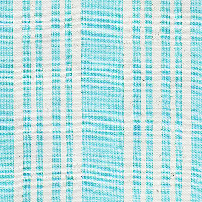 Blue Fabric Poster by Tom Gowanlock