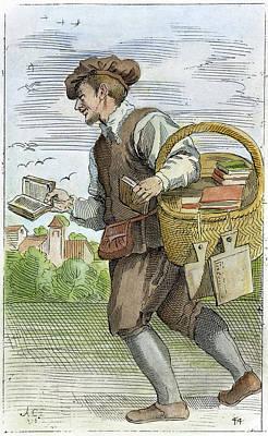 Bookseller, 1646 Poster by Granger