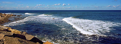 Boulders On The Beach, Montauk Point Poster by Panoramic Images