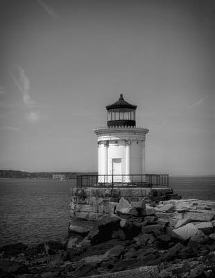 Breakwater Light - Portland Maine Poster by Mountain Dreams