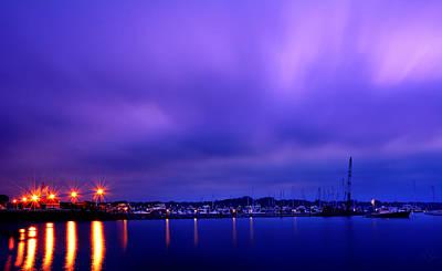 Brewer Yacht Yard At Cowesett Rhode Island Poster by Lourry Legarde