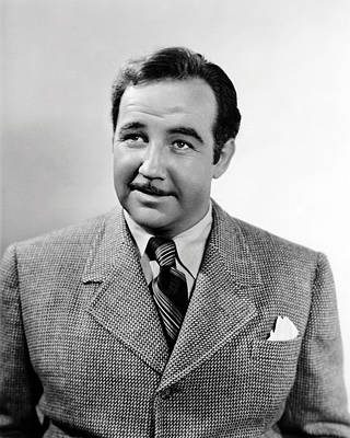 Broderick Crawford Poster by Silver Screen
