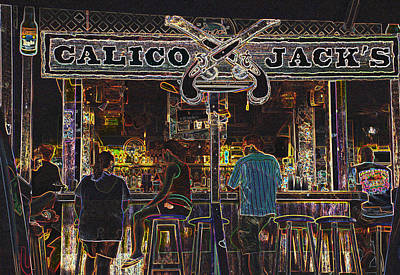 Calico Jacks Poster by Dave Byrne