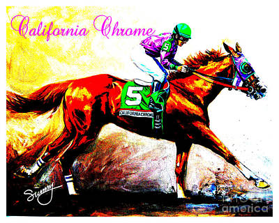 California Chrome Poster by Sunny Shin