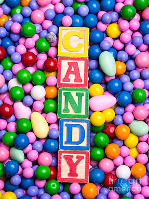 Candy Poster by Edward Fielding
