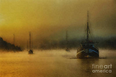 Carina In The Mist Poster by English Landscapes