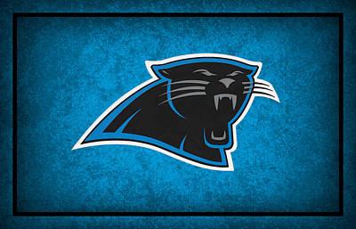 Carolina Panthers Poster by Joe Hamilton