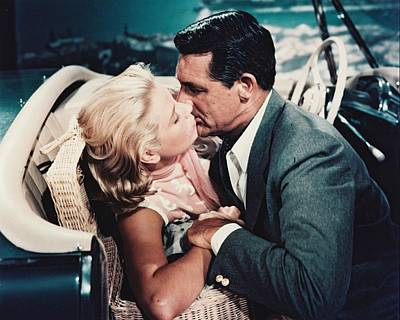 Cary Grant In To Catch A Thief  Poster by Silver Screen