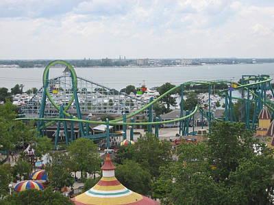Cedar Point - Raptor - 12123 Poster by DC Photographer