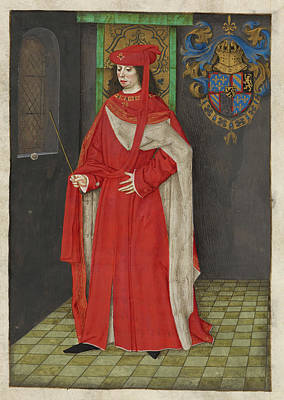 Charles The Bold Poster by British Library