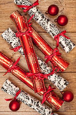 Christmas Crackers Poster by Amanda Elwell