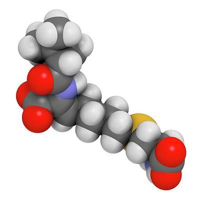 Cilastatin Molecule Poster by Molekuul