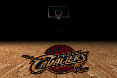 Cleveland Cavaliers Poster by Joe Hamilton