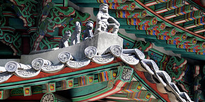 Close-up Of Details Of Shrine Poster by Panoramic Images