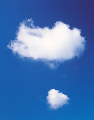 Clouds In Blue Sky Poster by Panoramic Images