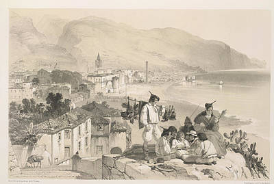 Coastal View Poster by British Library