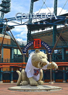 Comerica Park Poster by Frozen in Time Fine Art Photography