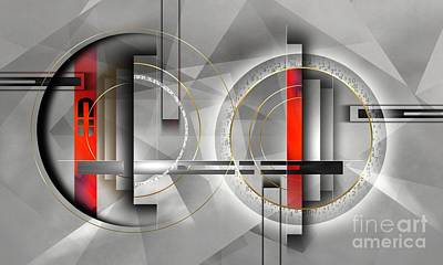 composition XIV Poster by Franziskus Pfleghart