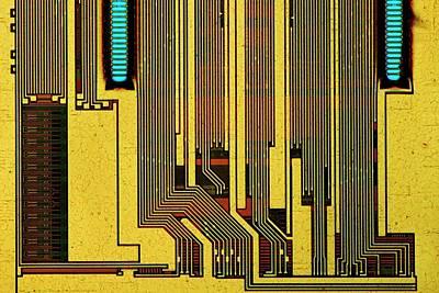 Computer Ram Module Poster by Antonio Romero