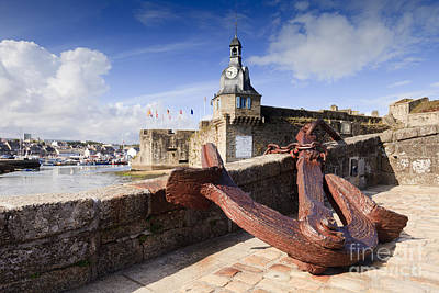 Concarneau Brittany France Poster by Colin and Linda McKie