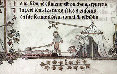 Cooks, 14th Century Poster by Granger