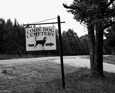 Coon Dog Cemetery Poster by Mountain Dreams