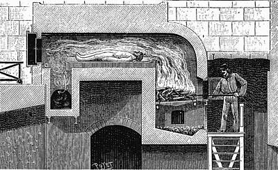 Cremation Furnace Poster by Universal History Archive/uig