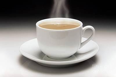 Cup Of Tea Poster by Victor de Schwanberg