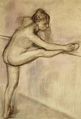 Dancer At The Bar Poster by Edgar Degas