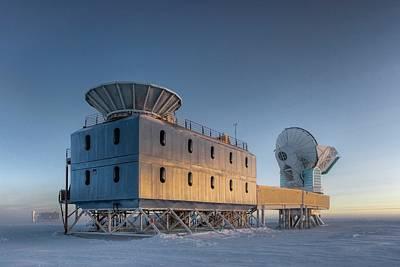 Dark Sector Lab Telescopes Poster by Nsf/steffen Richter/harvard University