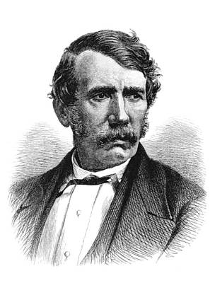 David Livingstone, Scottish Explorer Poster by British Library