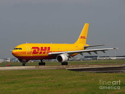 Dhl Airbus A300 Poster by Paul Fearn