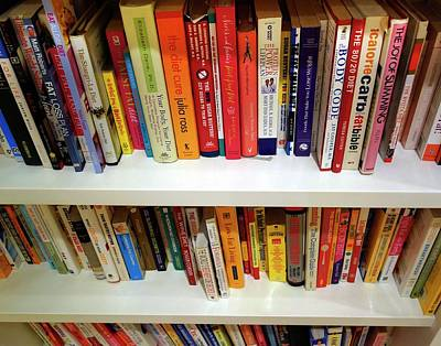 Diet Books Poster by Cordelia Molloy